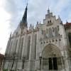 Außenansicht der gotischen Marienkirche