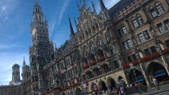 Der Marienplatz ist das pulsierende Zentrum Münchens