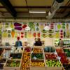 Sehnsucht nach frischem Obst und knackigem Gemüse? Der Stand der Green Seed Grocery sieht nicht nur wunderschön aus, er überzeugt auch.