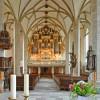 Die imposante Orgel wurde von Friedrich Ladegast geschaffen.