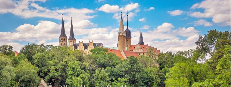 Der Merseburger Dom befindet sich direkt neben dem Schloss.