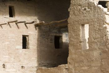 Die Häuser aus Stein werden Pueblo genannt