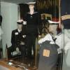 Auch viele Uniformen sind in der Ausstellung zu sehen.