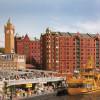Die Stadt Hamburg ist mit ihren Sehenswürdigkeiten auf rund 200 m² nachgebildet.