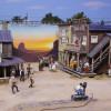 Im Wunderland Amerika steht das kleine Westerndorf.