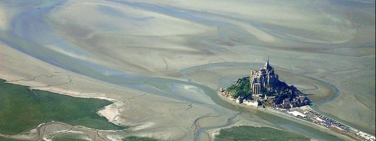 Mont Saint Michel von Oben