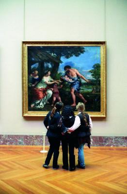 Über eine Million Kunstwerke werden im Louvre gelagert. Nur ein Bruchteil ist überhaupt ausgestellt.