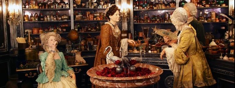 Nachstellung einer Szene aus Das Parfum