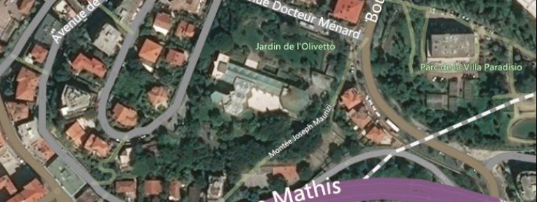 Das Museum wird umgeben vom Jardin de l'Olivetto.