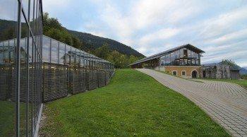 Außengelände der Dokumentation Obersalzberg