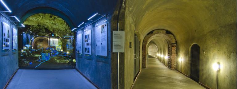 Bunkeransicht der Dokumentation Obersalzberg