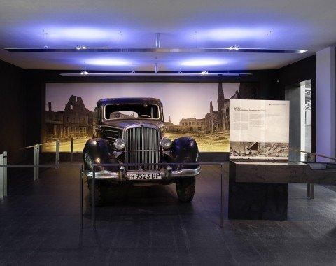Im Museum befindensich zahlreiche Klassiker.