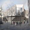 Der Entwurf für den modernen Bau stammt vom Frankfurter Architekturbüro wörner traxler richter.