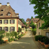 Am Schlossbuck: Wunderbar erhaltenes Ensemble.