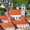 Außenansicht des Klosters