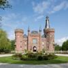 Prächtiger Anblick: Schloss Moyland von außen.