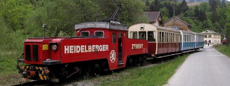 Die über 200 Jahre alte Wachtlbahn ist die europaweit älteste Schmalspurbahn.