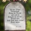 Diese Inschrift befand sich auf einem Friedhof im Salzburger Lungau und wurde 1887 angefertigt.