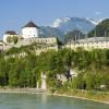 Das Museum grenzt direkt an die Festung auf der gegenüberliegenden Seite an.