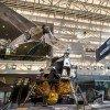 Die Boeing Milestones of Flight Hall mit der Apollo Mondfähre.