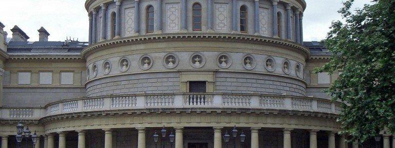 Das Gebäude der Archaelogy Ausstellungen
