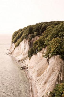 Die Geschichte der Rügener Kreideküste beginnt am Ende der Kreidezeit vor rund 70 Millionen Jahren.