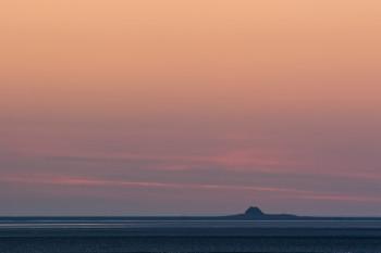 Sonnenuntergang Hallig