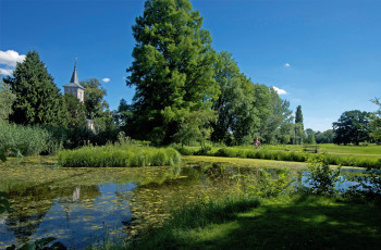 Auch der Lenné Park in Criewen ist Teil des Nationalparks Unteres Odertal.