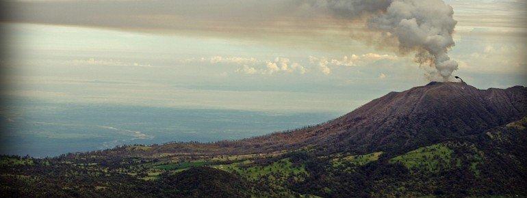Blick auf den Turrialba, den zweithöchsten Vulkan Costa Ricas