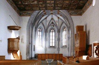 Die rätoromanischen Kirchen sind kulturhistorisch besonders interessant