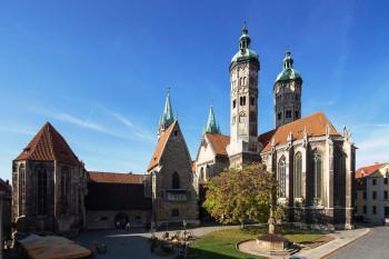 Der Naumburger Dom gehört zu den Highlights der Straße der Romanik.