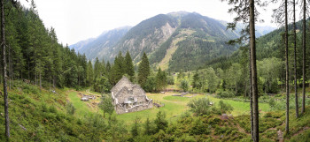 Das Nickelmuseum Hopfriesen liegt in der beeindruckenden Naturlandschaft der Schladminger Tauern.