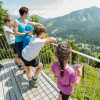 Der Erlebnisweg liegt auf einem Hochplateau auf 2000 Höhenmetern.