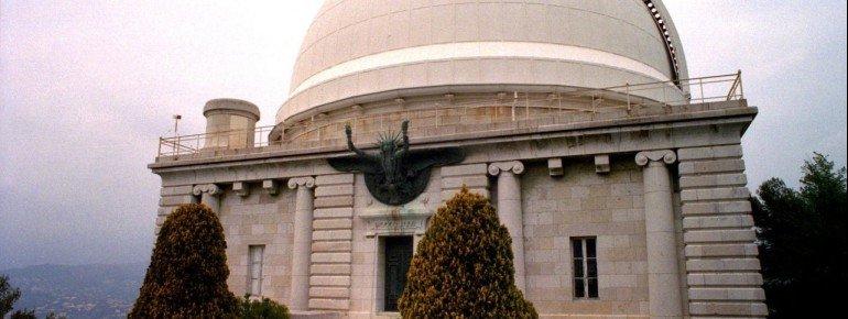 Der Blick auf das Observatorium.