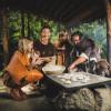 Im Ötzi-Dorf wird man in die Steinzeit zurückversetzt.