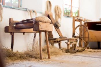 Auch altes Handwerkszeug gibt es im Museum zu sehen.