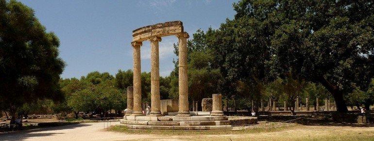 Das Philippeion in Olympia