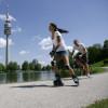 Der Olympiapark bietet zahlreiche Freizeitmöglichkeiten