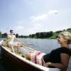 Eine Bootsfahrt auf dem Olympiasee