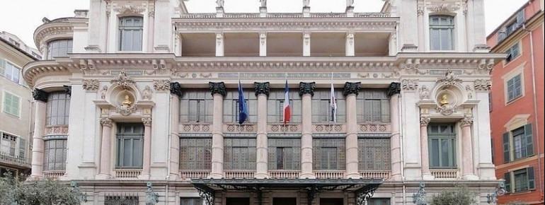 Die Nordfassade der Oper