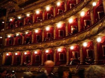Die Logen in der Oper