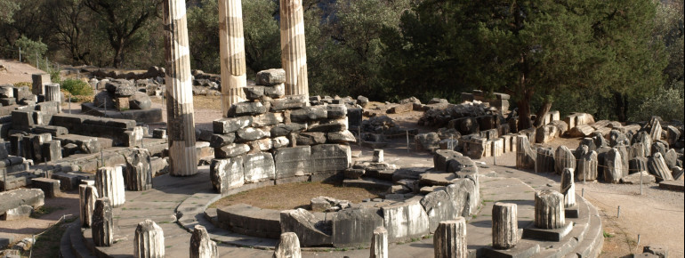 Das Heiligtum der Athena Pronaia