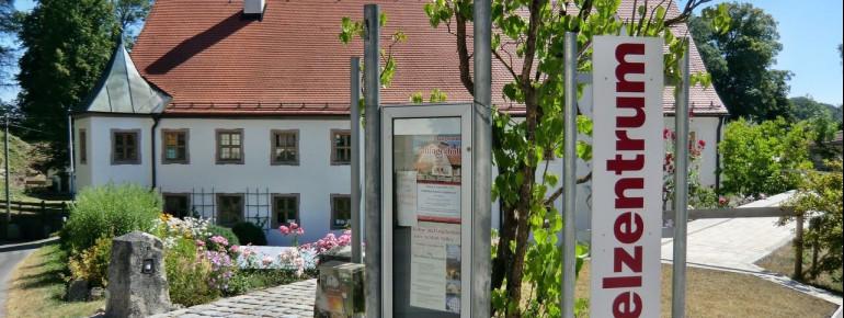 Eingang zum Orgelzentrum in Valley
