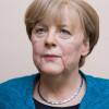 Wachsfigur Angela Merkel