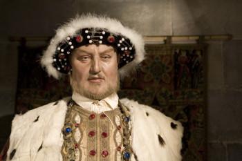 Wachsfigur Heinrich VIII.