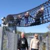 Wie eine große Schlange wölbt sich die Sky Boa über die Panorama Brücke.