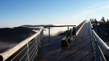 Genieße den Ausblick von der höchsten Aussichtsbrücke im Sauerland.