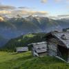 Genieße die einmalige Aussicht von der Wiesner Alp