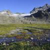 Piz Kesch und der Porchabella-Gletscher
