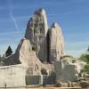 Im Innern des Felsens befindet sich das Vivarium.